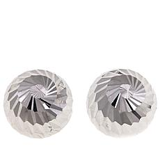 Michael Anthony Jewelry® 10K Swirl Stud Earrings