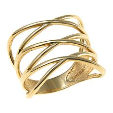Michael Anthony Jewelry® 10K Triple Criss Cross Ring - Size 6