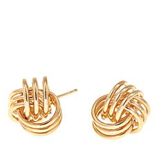 Michael Anthony Jewelry® 14K Love Knot Stud Earrings