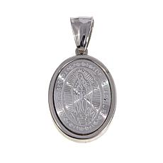 Michael Anthony Jewelry® Virgin Mary Oval Pendant
