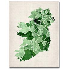 Michael Tompsett 'Ireland Watercolor' Giclee Print