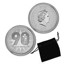 Mickey Mouse 90th Anniversary 1 oz. Silver Country of Niue $2 Coin