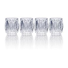 Mikasa Saxon Double Old Fashioned Glass Set of 4