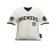 Milwaukee Brewers Plushlete Big League Jersey Pillow