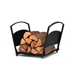 Mind Reader Fireplace Firewood Storage Rack