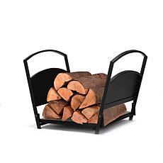 Mind Reader Fireplace Firewood Storage Rack