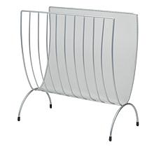 Mind Reader Metal Mesh One Compartment Magazine Rack