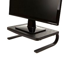 Mind Reader Monitor Stand Computer Riser w/Metal Legs