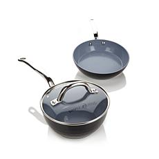 Ming Tsai 3-piece Diamond Cookware Set