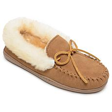 Minnetonka Alpine Sheepskin Moccasin Slipper - Wide