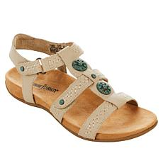 Minnetonka Meryl Leather Slingback Sandal
