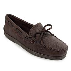 Minnetonka Moosehide Leather Classic Moccasin
