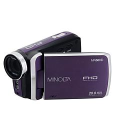 Minolta 1080p Full HD Digital Camcorder with Carrying Case