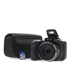 Minolta 20MP 35X Optical Zoom SLR-Style Camera Bundle