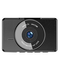 "Minolta MNCD60 3"" LCD Screen 1080p Dashcam"