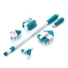 MiracleClean™ 6-piece Flexi-Curve Deep Clean Set with Better Bristles