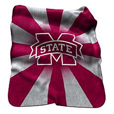 Mississippi State Raschel Throw