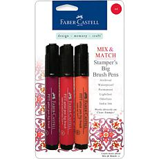 Mix and Match Stamper's Pens - 3-pack Red