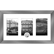 MLB Boston Red Sox Art Deco Silver-Plated Coin Photo Mint