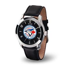 MLB Classic Series Black Strap Watch - Blue Jays