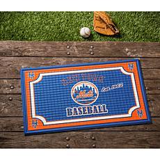 MLB Embossed Door Mat - New York Mets