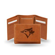 MLB Embossed Trifold Wallet - Blue Jays