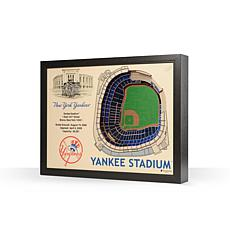 MLB New York Yankees StadiumViews 3-D Wall Art - Yankee Stadium