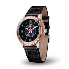 MLB Players' Embossed Strap Watch - Houston Astros
