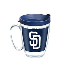 MLB San Diego Padres Legend 16 oz. Coffee Mug with Lid