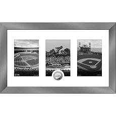 MLB San Francisco Giants Art Deco Silver-Plated Coin Photo Mint