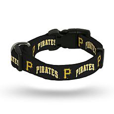 MLB Small Pet Collar - Pirates
