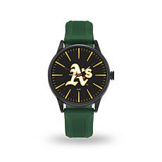 "MLB Sparo Team Logo ""Cheer"" Strap Watch - Athletics"