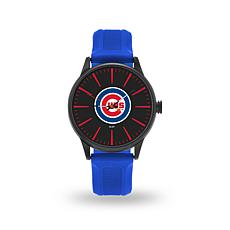 "MLB Sparo Team Logo ""Cheer"" Strap Watch - Cubs"