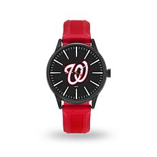 "MLB Sparo Team Logo ""Cheer"" Strap Watch - Nationals"