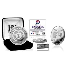 MLB Texas Rangers Silver-Plated Coin