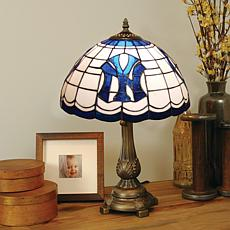 MLB Tiffany-Style Table Lamp - New York Yankees