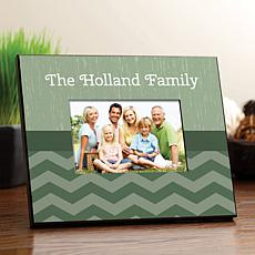 Modern Chevron Personalized Picture Frame