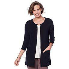 ModernSoul® Easy Knit Jersey Cardigan with Pockets