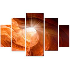 Moises Levy 'Smooth II' Multi-Panel Art Collection