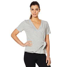 Motto Modern Pima Cotton Side-Knot Tee