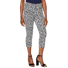 Motto Timeless Twill Pull-On Crop Pant