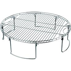 Mr. Bar-B-Q 08600YFS Large Round Cooking Grate with Folding Legs