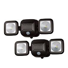 Mr. Beams 600 Lumens Motion Activated 2-pack Floodlights