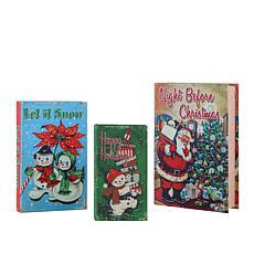 Mr. Christmas Nostalgic Holiday Storage Boxes - Set of 3