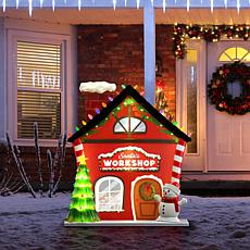 Mr. Christmas Santa's Workshop Indoor/Outdoor Decoration