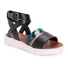 MUK LUKS Mariposa Ankle-Strap Sandal