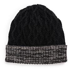 MUK LUKS® Men's Cable Cuff Cap