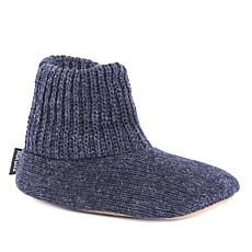MUK LUKS Morty Ragg Wool Men's Slipper Sock