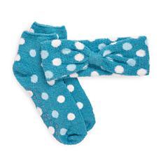 MUK LUKS® Women's Aloe Infused Sock and Headband Set
