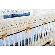 My Baby Sam Desert Sky Crib Rail Cover